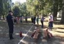 Для працівників дитячого садочка провели заняття з пожежогасіння