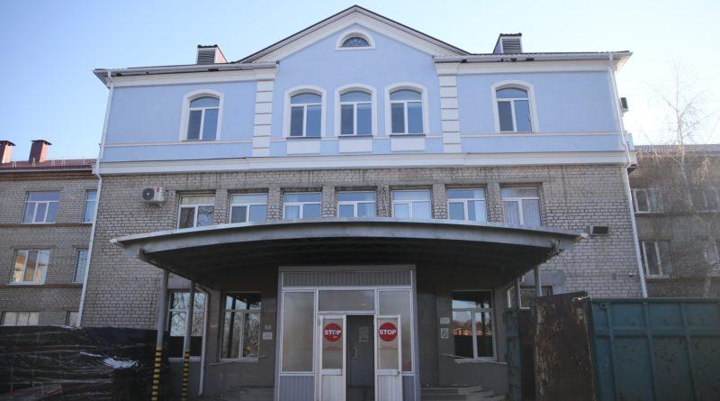 У лікарні «Кременчуцька» будують приймальне відділення європейського рівня